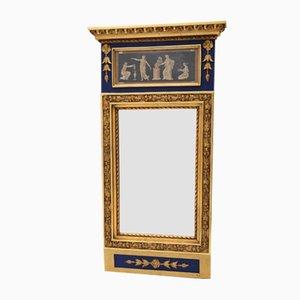 Specchio antico con dipinto originale