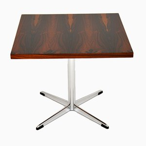 Vintage Rosewood & Chrome Coffee or Side Table by Howard Keith, 1960s