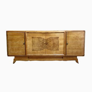 Art Deco Sycamore Buffet, 1920s