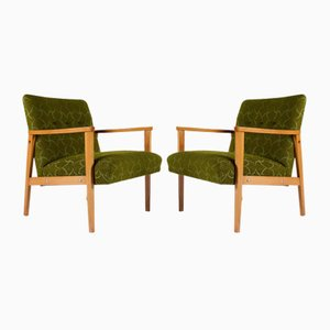 Visitors Chairs, 1960s, Set of 2