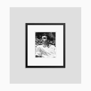 Montgomery Clift in the Summer Sun Archival Pigment Print Framed in Black by Everett Collection