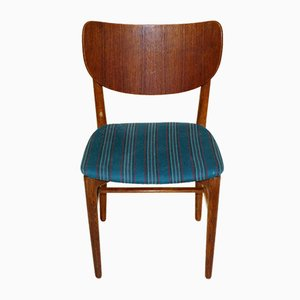 Danish Desk Chair in Teak and Oak, 1960s