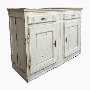 Antique Cupboard in White Oak