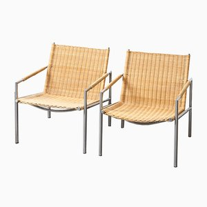 Mid-Century SZ01 Easy Chairs by Martin Visser for 't Spectrum, 1960s, Set of 2