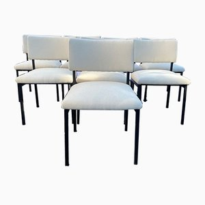 Vintage Dining Chairs by Joseph-André Motte for Steiner, 1960s, Set of 8