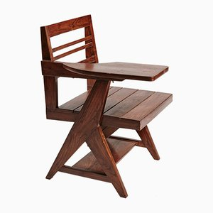 Class Writing Desk Chair by Pierre Jeanneret
