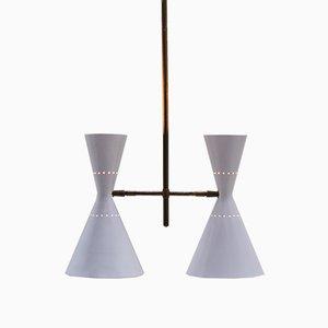 Moderne Deckenlampe von Baumann & Kölliker, 1951