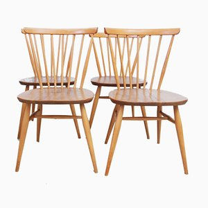 Model 449 Dining or Kitchen Chairs by Lucian Ercolani for Ercol, 1960s, Set of 4