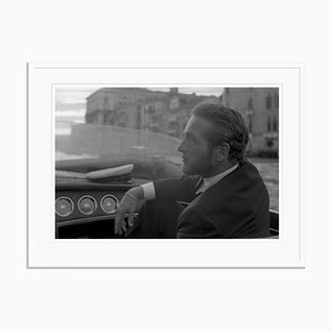 Paul Newman Archival Pigment Print Framed in White