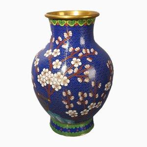 Enameled Cloisonne Vase, 1950s