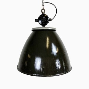 Vintage Industrial Factory Lamp from Elektrosvit, 1960s