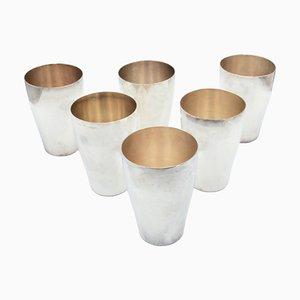 Vasos Mid-Century de WMF. Juego de 6