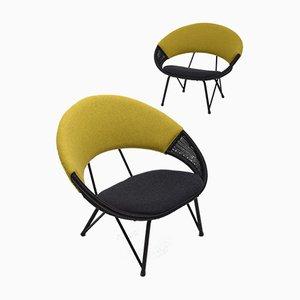 Schwedische Vintage Sessel, 2er Set