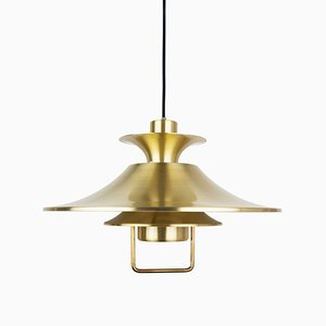 Vintage Danish Ceiling Lamp from Lyskær Belysning