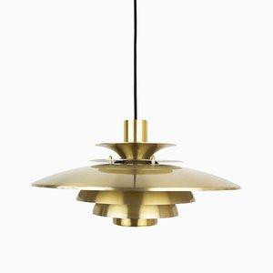 Vintage Danish Verona Pendant Lamp by Kurt Wiborg for Jeka Metaltryk, 1980s