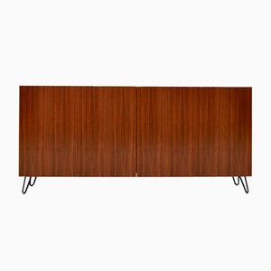 Mid-Century Walnut Highboard, 1960s