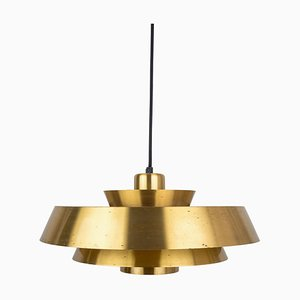 Vintage Danish Model Nova Ceiling Lamp by John Hammerborg for Fog & Morup, 1960s
