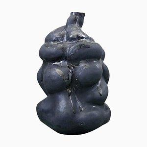Christina Muff, Large, Hand Modelled Stoneware Sculptural Vase