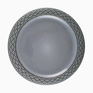 Grey Cordial Number 624 Dinner Plates from Bing & Grondahl, Set of 10