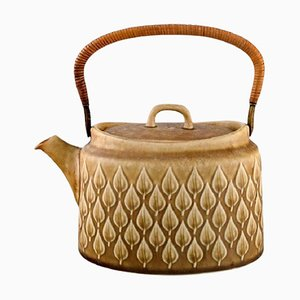 Relief Teapot by Jens H. Quistgaard for Bing & Grondahl, 1960s