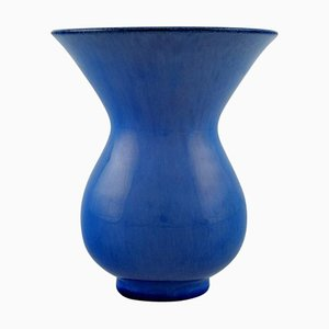 Vase in Glazed Ceramic by Vicke Lindstrand for Upsala Ekeby, 1950s