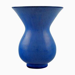 Vaso in ceramica smaltata di Vicke Lindstrand per Upsala Ekeby, anni '50