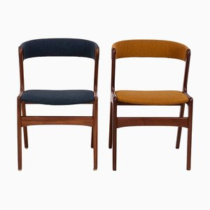 Mid-Century T21 Fire Chairs from Korup Stolefabrik, 1960s, Set of 2