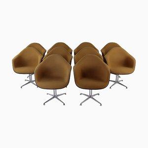 Bezogener La Fonda Armlehnsessel von Charles & Ray Eames, 1970er, 2er Set