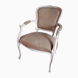 Antique Linen Chair