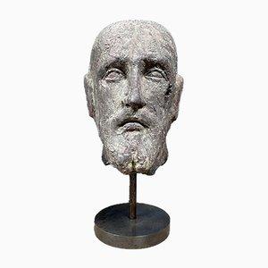 Terracotta Male Head, 1950s