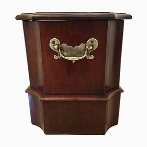 18th Century George III Mahogany Box, Stand or Stool