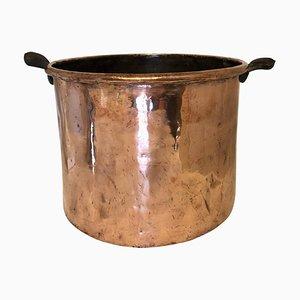 Large 19th Century George III Copper Pot
