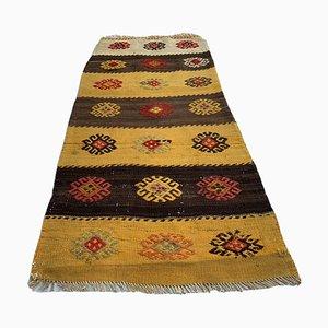 Tappeto Kilim vintage di lana, Turchia