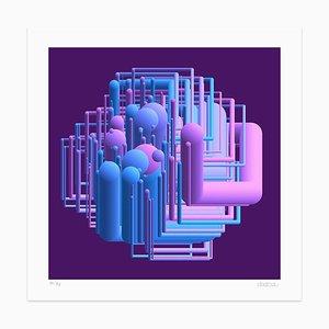 Tubing Giclée Print by Dadodu, 2019