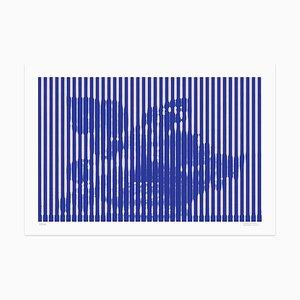 Grey Lines Giclée Print by Dadodu, 2016
