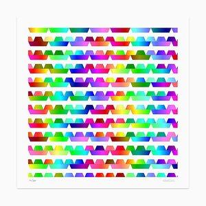 Color Waves Giclée Druck von Dadodu, 2013