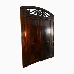 Antique Walnut Door Gate, 1768