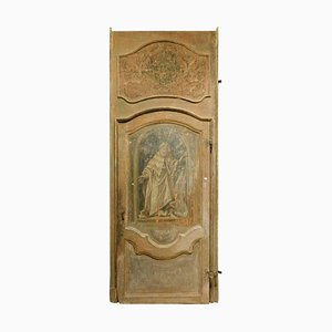 Antique Lacquered Door