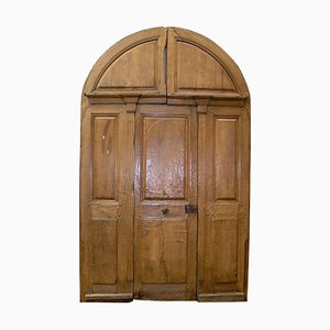 Antique Walnut Doorway, 1768
