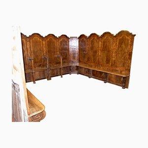 Antique Walnut Choir Stalls