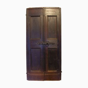 Antique Walnut Double Door