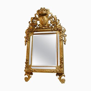 18th Century Richly Carved and Gilded Mirror