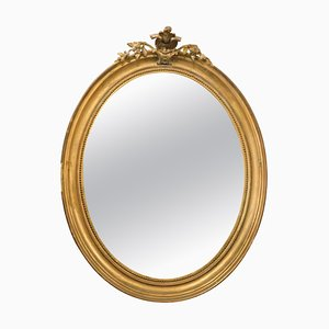 18th Century Mirror with Golden Frame