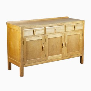 Mid-Century Blonde Oak Sideboard from Heals, 1950s