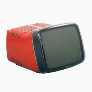 Vintage Portable Algol 11 TV's by Marco Zanuso & Richard Sapper for Brionvega, 1960s, Set of 2