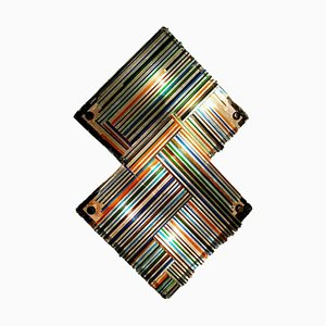Murano Glass Sconce by Biancardi & Jordan for Poliarte, 1970s