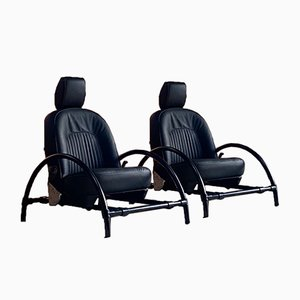 Rover Lounge Chairs by Ron Arad for One Off Ltd, 1981, Set of 2