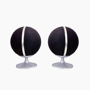 Mid-Century K-1-70 Basketball Speakers from Korona, Set of 2