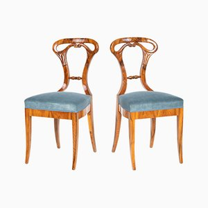 Biedermeier Bucket Chairs, 1830s, Set of 2