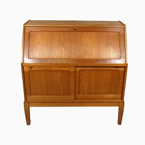 Danish Teak Secretaire by H. W. Klein for Bramin, 1960s